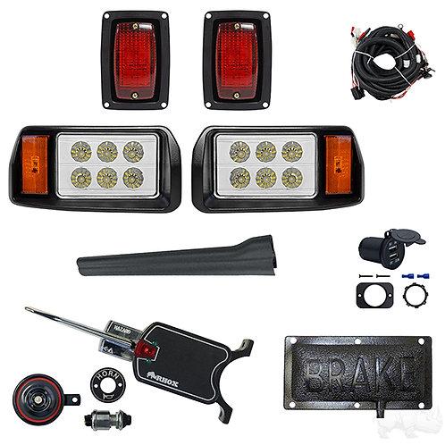 LED OEM Style Light Kit, Club Car DS 93+, Basic Turn Signal, Pressure Brake Sw
