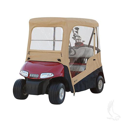 Drivable Enclosure, Zip-Off Windshield, E-Z-Go RXV, TXT 96-13