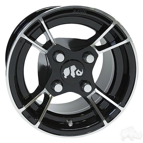 RHOX RX176, Machined Black, 10x7 -25