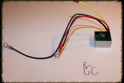 Voltage Regulator, Pedal Start for Club Car