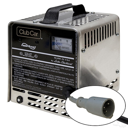 Battery Charger, Club Car PowerDrive3, 48V