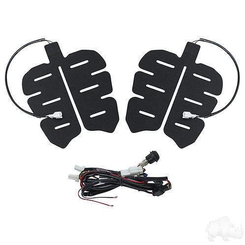 Universal Seat Heater Kit, 12V