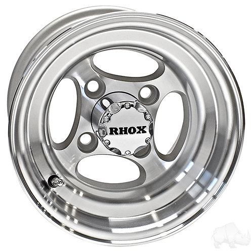 RHOX Indy, Machined w/ Center Cap, 10x7 ET-22