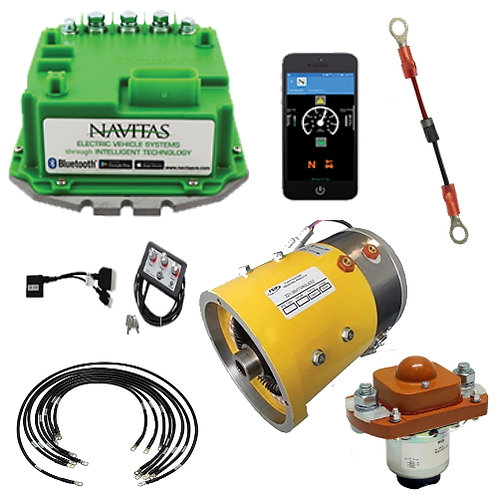 E-Z-GO TXT48 Level 4B Upgrade Kit - Navitas 600/Speed Motor