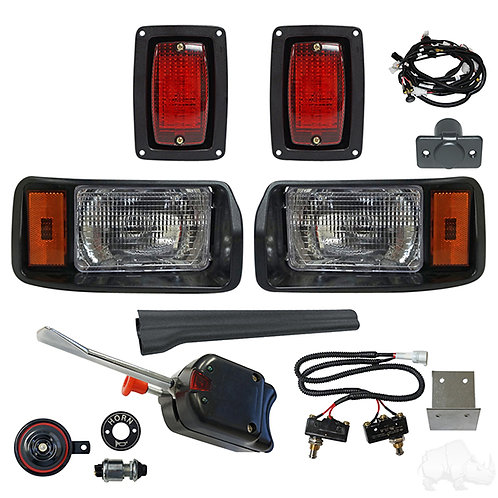 RHOX OEM Style Light Kit, Club Car DS 93+ (Basic Turn Switch, Micro Brk Switch)
