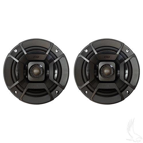"Polk, 5.25"" SET OF 2 Moisture Resistant Coaxial Speakers, 50 Watt"
