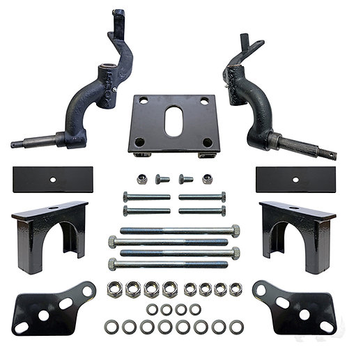 """RHOX 3"""" Drop Spindle Lift Kit, Club Car DS Gas & Electric 09+"""