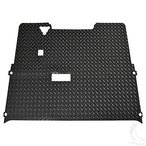 Floor Mat, Diamond Plate Rubber, Black, E-Z-Go TXT 94-01.5