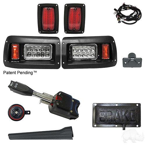 RHOX LED Adj. Light Kit, Club Car DS 93+ (Std Turn Switch/Pressure Brk Switch)