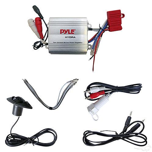 Amplifier, w/ Dash Control, 100 Watt, Marine Grade