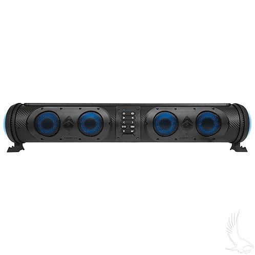 EcoXgear Sound Extreme Soundbar, Four Speaker, 500W, Dual Woofers and RGB Lights