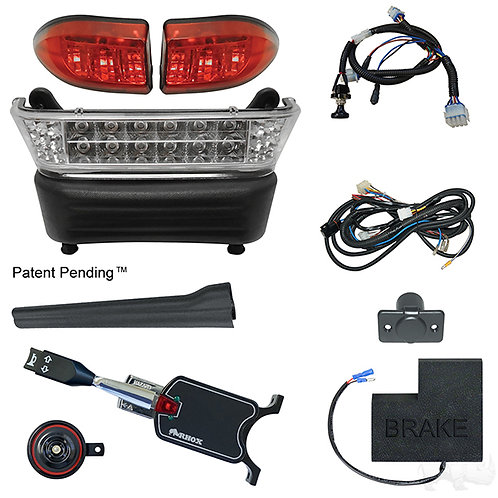 RHOX LED Light Bar Kit, Precedent Elec, 2008.5+, (STD turn sw, OEM Brk Sw)