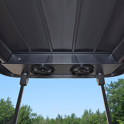 Overhead Audio Console with Bluetooth Amp and Speakers, Club Car Precedent