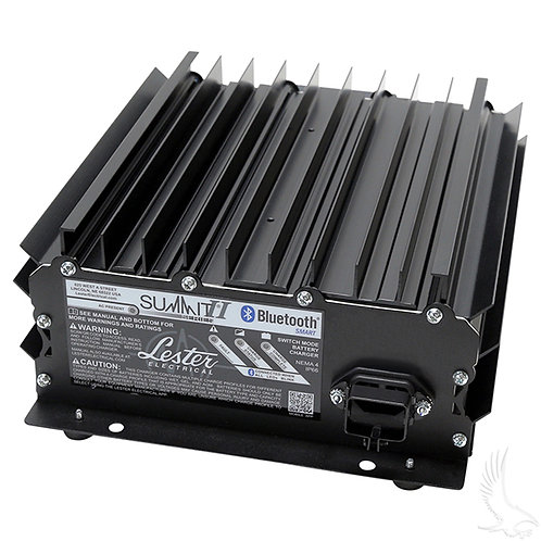 Lester Summit Series II Battery Charger, 22-25 Amp (Onboard or Without Cord)