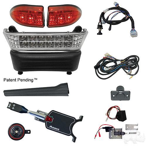 RHOX LED Light Bar Kit, Precedent Elec, 2008.5+, (STD turn sw, Linkage Brk sw)