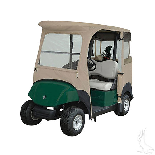 Drivable Enclosure, Zip-Off Windshield, Yamaha Drive2, Drive