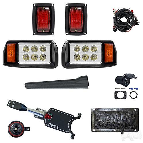 LED OEM Style Light Kit, Club Car DS 93+, Std Turn Signal,Pressure Brake Sw