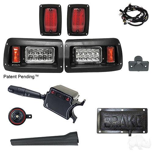 RHOX LED Adj. Light Kit, Club Car DS 93+ (DLX Turn Switch/Pressure Brk Switch)