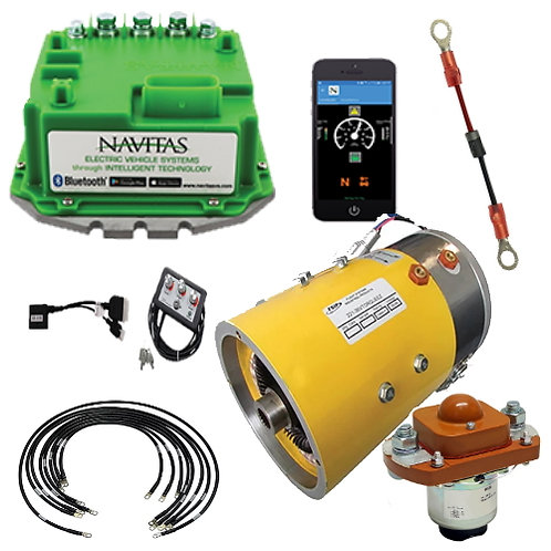 E-Z-GO TXT48 Level 5B Upgrade Kit - Navitas 600/Torque Motor