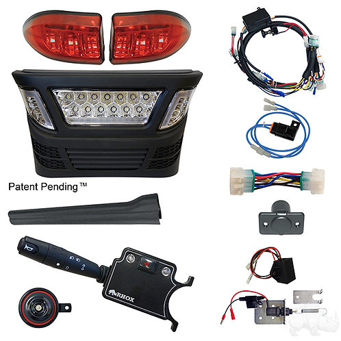 RHOX LED Light Kit, MultiColor LED, 2004-08.5 Electric, All Gas, DLX/Linkage Sw