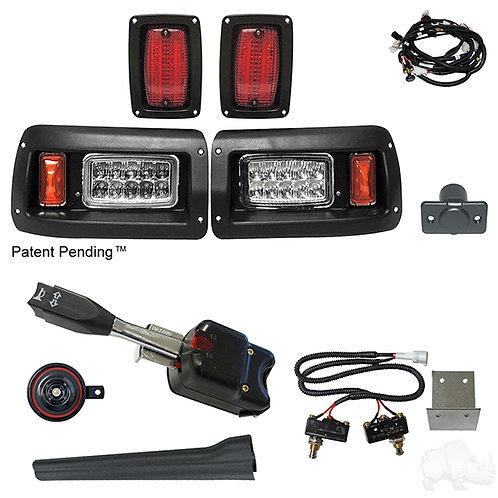 RHOX LED Adj. Light Kit, Club Car DS 93+ (Std Turn Switch/Micro Brk Switches)