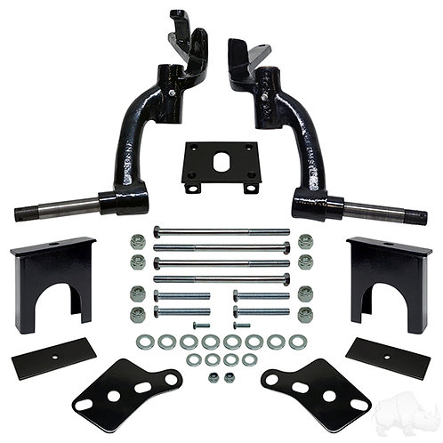 """RHOX 6"""" Drop Spindle Lift Kit, Club Car DS Gas 94-03.5 & Electric 84-03.5"""