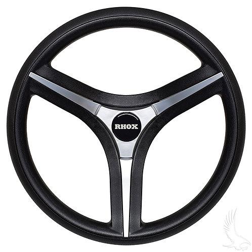 Brenta ST Steering Wheel, Silver Insert, Yamaha Hub