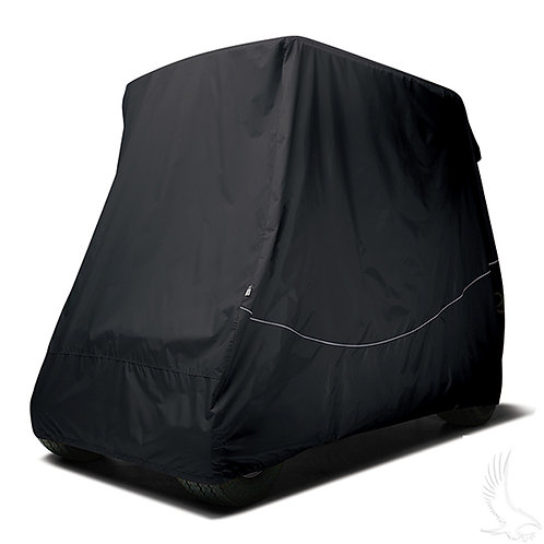 "Storage Cover, Car w/ 80"" Top & Rear Seat, Black"