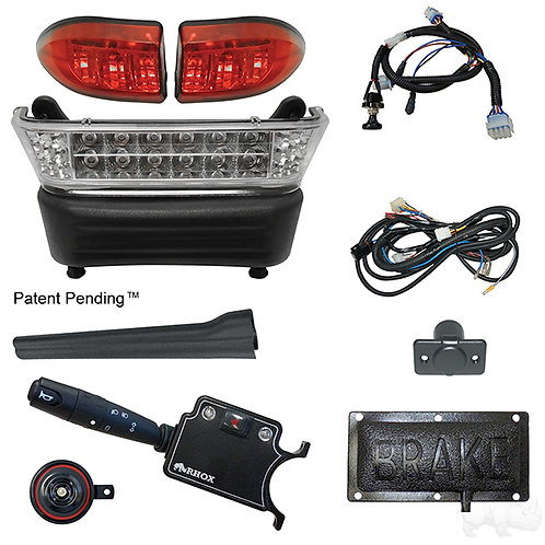 RHOX LED Light Bar Kit, Precedent Elec, 2008.5+, (DLX turn sw, Pressure Brk Sw)
