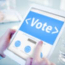 Digital Online Vote Democracy Politcs El