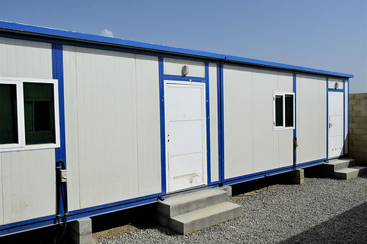 portacabin. Portable house and office ca