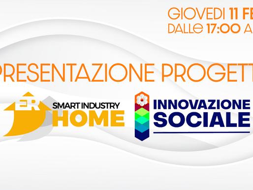 Webinar di presentazione dei percorsi Smart Home e Innovazione Sociale