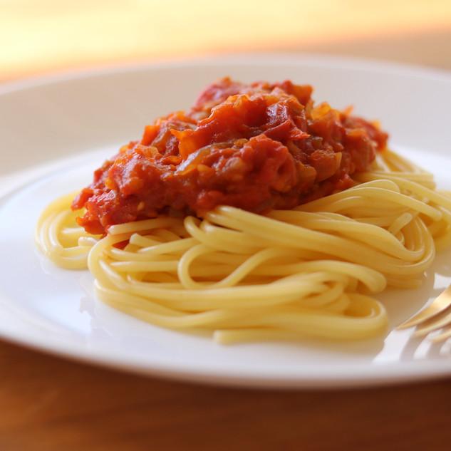 トマトソースパスタ / 0.3g