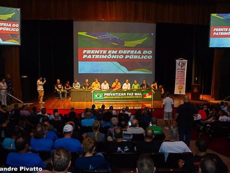 Relançamento da Frente em Defesa do Patrimônio Público