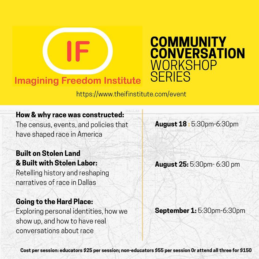 Three-Part Community Conversation Series