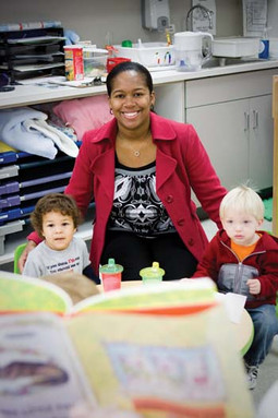 Corinne is an advocate for all students beginning with early education