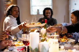 家族との夕食