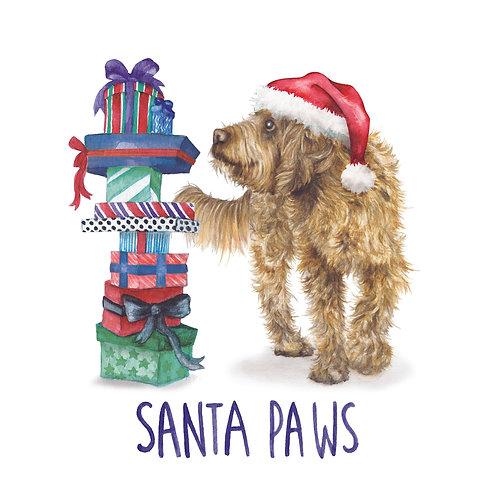 C94 - Santa Paws