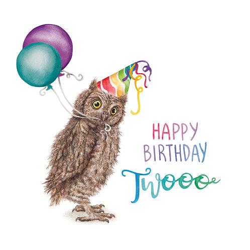 T42 Happy Birthday Twoo
