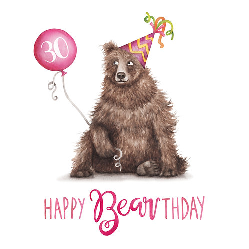T17 - Happy 30th Bearthday