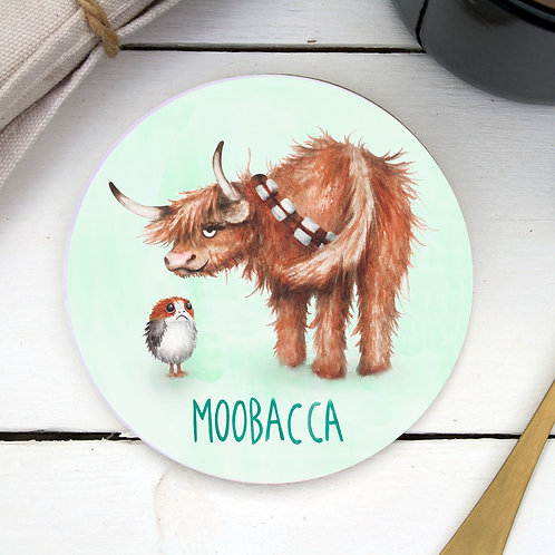 Moobacca Coaster