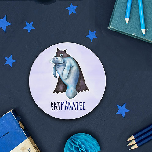 Batmanatee Coaster