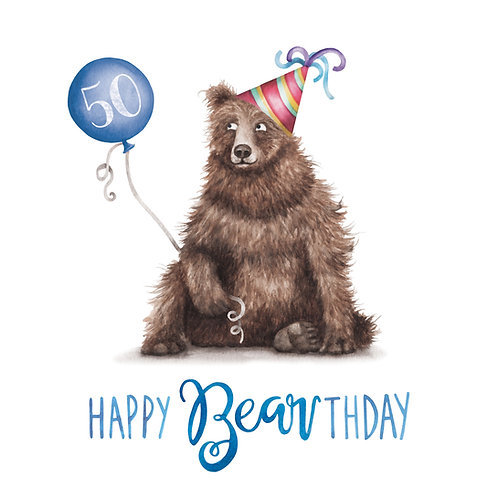 T19 - Happy 50th Bearthday