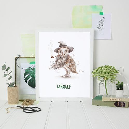 GandOWLf Print