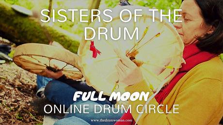 Online full moon drum circle