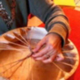Drum birthing -  a path to healing