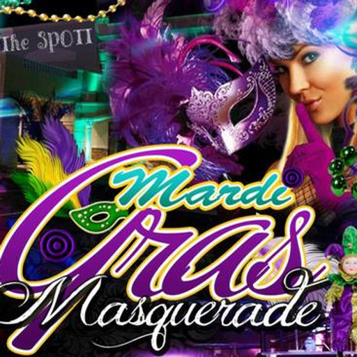 Mardi Gras Masquerade Party at The SPOTT!