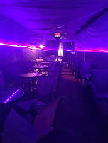 Tunnel Seating at The SPOTT Night Club
