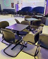 Floor Tables at The SPOTT Night Club