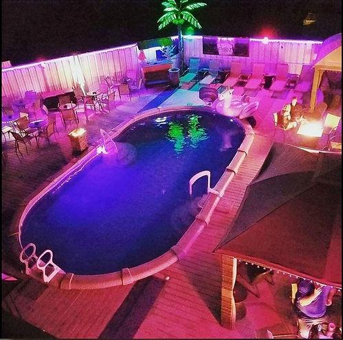 The WETTSPOTT Swimming Pool at The SPOTT Night Club